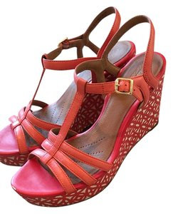 Clarks Coral Wedges