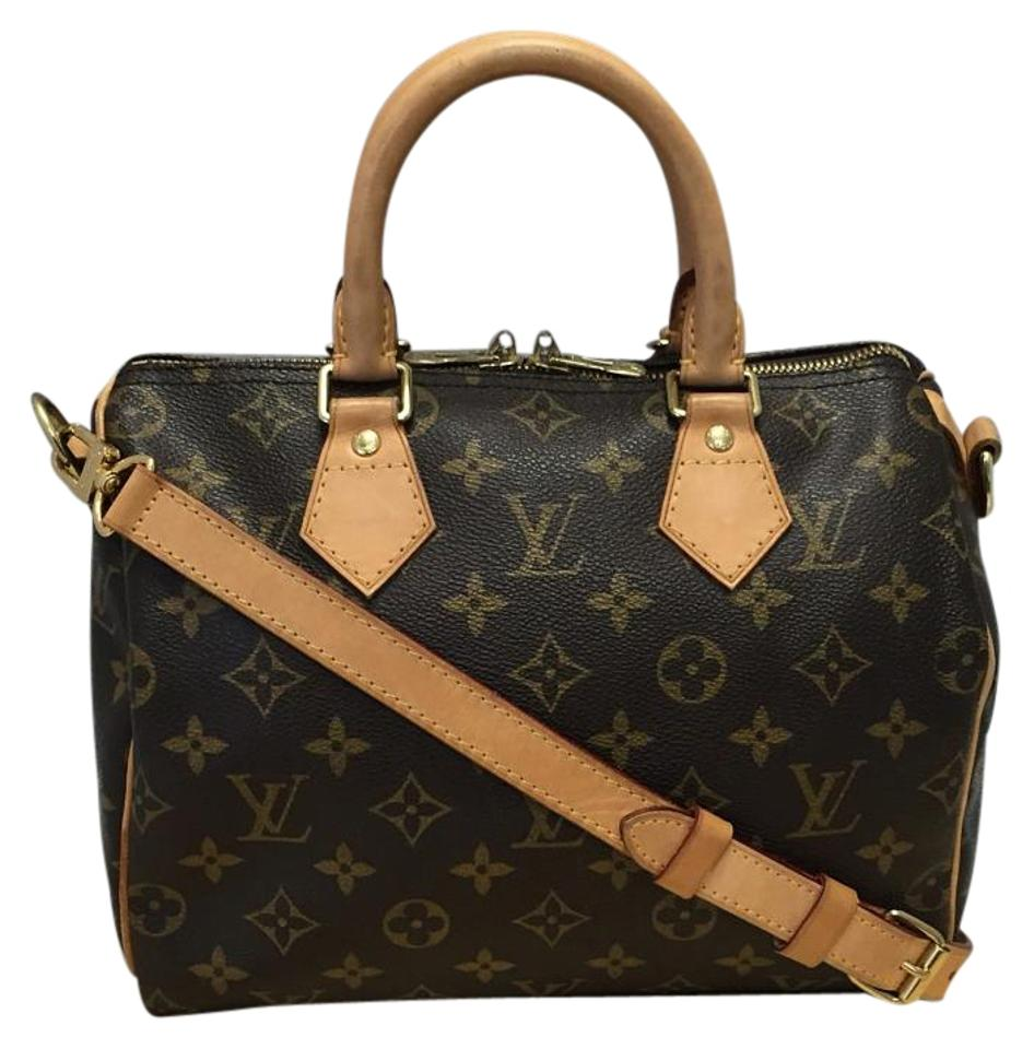 ecfd2ff6c4ee Louis Vuitton Speedy 25 Bandouliere Monogram. Comes with Dustbag Strap Lock  and Key Cross Body Bag