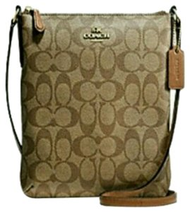 Coach F36063 Leather Cross Body Bag