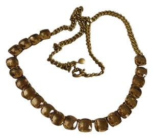 J.Crew vintage faceted crystal