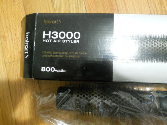 Hairart Hairart H3000 hot air styler 1in and 1 1/2 in