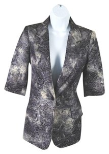 Elizabeth and James Brocade Multicolor Blazer