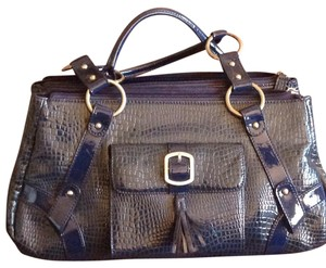 Charlie Lapson Satchel in Blue