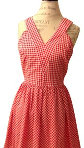 Some like it hot short dress Red and White on Tradesy