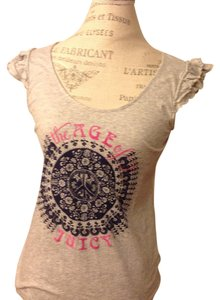 Juicy Couture T Shirt Gray