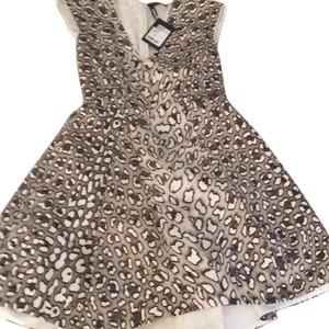 Roberto Cavalli short dress Leopard Print on Tradesy