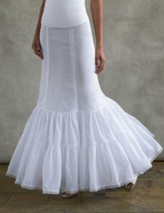 David's Bridal White Nylon Fit and Flare 550 Wedding Dress Size 10 (M)