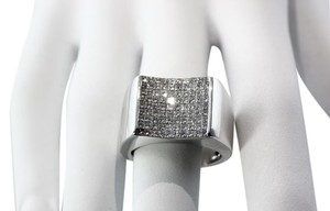 Other 3 Total Carats Princess Cut Paved Diamond Mens Ring