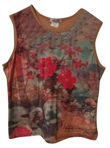 Cha Cha Vente Top Red/Brown (Various)