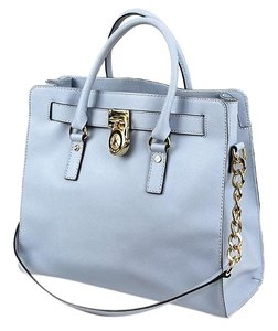 Michael Kors Hamilton Tote in Light Blue