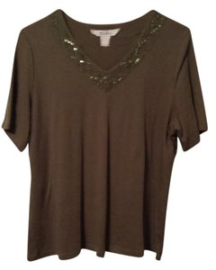 TanJay Top Olive Green