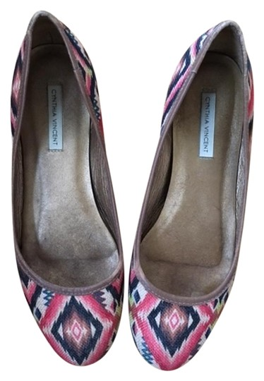 Preload https://item4.tradesy.com/images/twelfth-st-by-cynthia-vincent-flat-aztec-pink-orange-yellow-flats-15567868-0-1.jpg?width=440&height=440