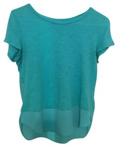Express Top Green/turquoise