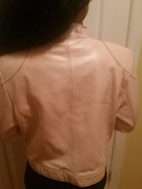 Wilsons Leather Light Leather Pink Leather Jacket