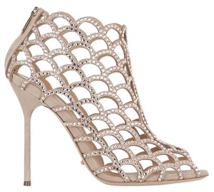 Sergio Rossi Mermaid Nude Sandals