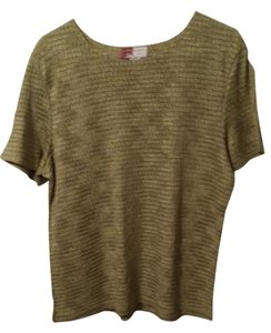 JM Collection Top Soft Green