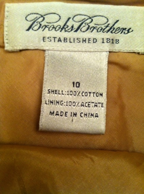 Brooks Brothers Skirt Camel