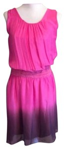 Boutique Italy short dress Pink ombre on Tradesy
