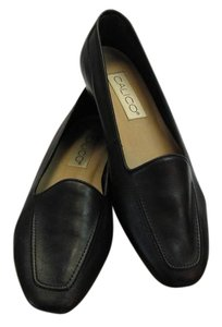 Calico Size 8.00 M Very Good Condition Black Flats