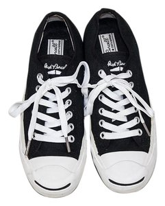 James Perse Casual Classic Black and White Lace-ups Athletic