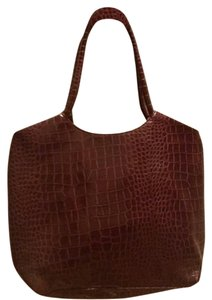 Neiman Marcus Tote in Deep Rich Wine