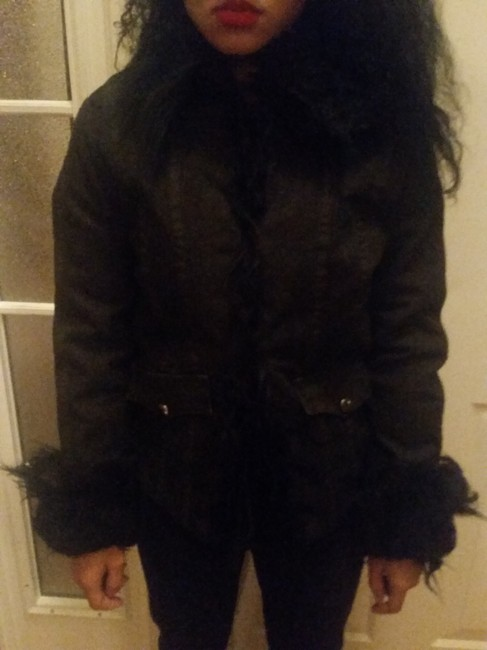 Item - Black Made In Italy European Purchase Jacket Size 8 (M)