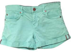 Sanctuary Cuffed Shorts Seafoam Green