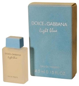 Dolce&Gabbana NEW Dolce & Gabbana LIGHT BLUE Women's Mini Collectible Bottle