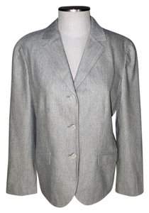 Lands' End gray Blazer
