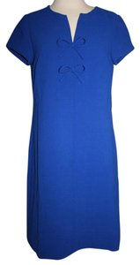 J.Crew short dress Bright Indigo on Tradesy