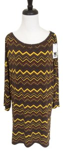 M Missoni short dress Multicolor Print Shift on Tradesy