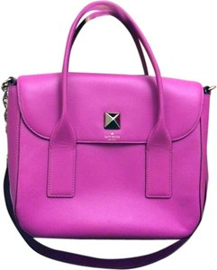 Kate Spade Pink Girly Satchel in fuchsia