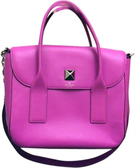 Kate Spade Pink Girly Satchel in fuchsia Image 0