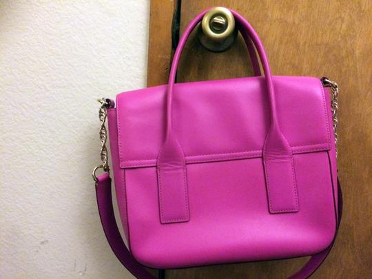 Kate Spade Pink Girly Satchel in fuchsia Image 1