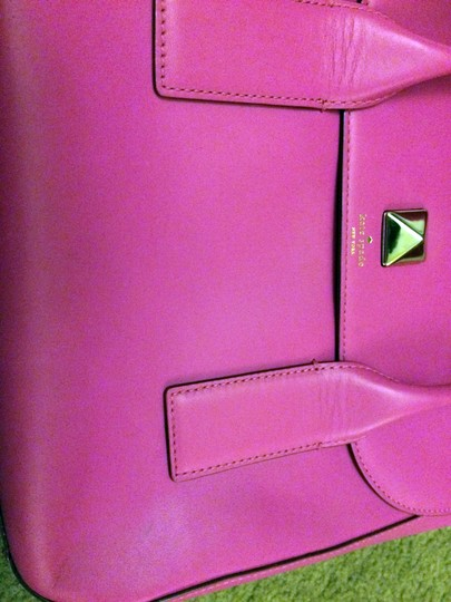 Kate Spade Pink Girly Satchel in fuchsia Image 6