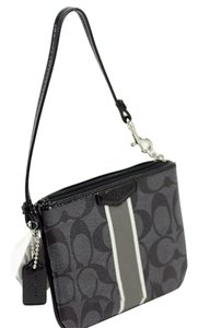 Coach Gift Small Wristlet in Black
