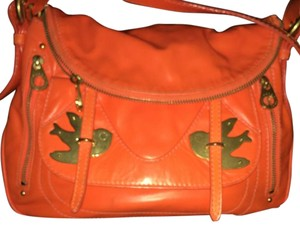 Marc by Marc Jacobs Satchel in Highlighter Orange