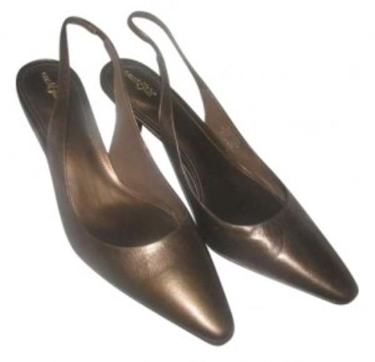Preload https://item5.tradesy.com/images/east-5th-essentials-bronze-leather-pumps-size-us-11-155719-0-0.jpg?width=440&height=440