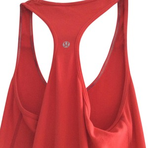 a10095c0a779e Lululemon Alarming (Coral-y) Cool Racerback Tank Top Cami Size 6 (S ...