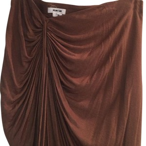 Helmut Lang Skirt Light brown