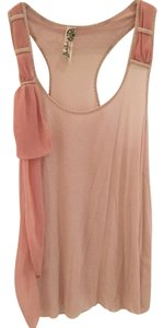Free People Top Beige and pink