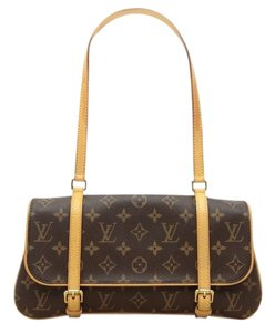 Louis Vuitton Marelle Waist Clutch Lv Signature Shoulder Bag