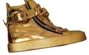 Giuseppe Zanotti Metallic Gold Athletic