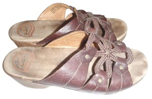 Dansko Clogs Mules brown Sandals