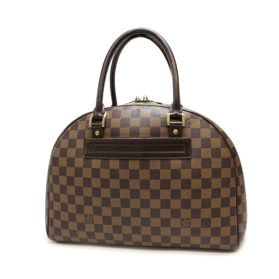 Louis Vuitton Nolita Structured Damier Satchel In Brown 123456789101112
