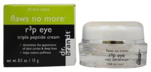 "Dr Brandt dr.brandt ""flaws no more"" r3p Eye: TRIPLE PEPTIDE CREAM"