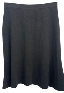 St. John Brown Knit Skirt
