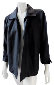 Talbots Lightweight Woven 7712 Black Jacket