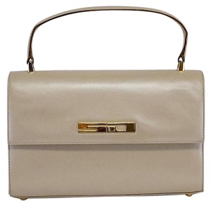 St. John Beige Mini Convertible Hobo Bag