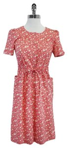 Marc by Marc Jacobs short dress Pink Cream Floral Shirt on Tradesy